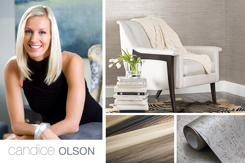 Candice Olson wallcoverings