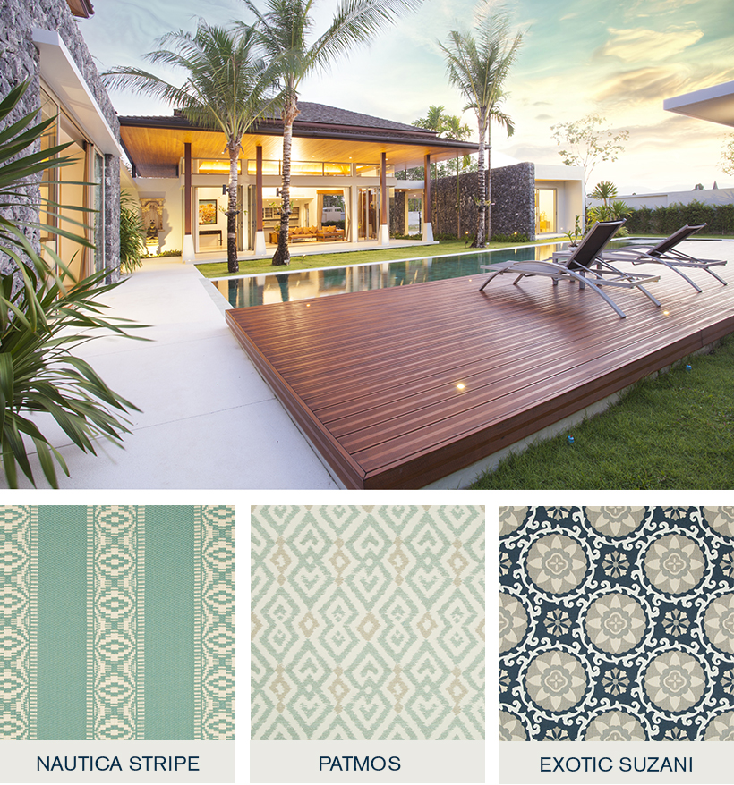 Explorer - Oceania Indoor/Outdoor Collection - Indoor/Outdoor Fabric Collection