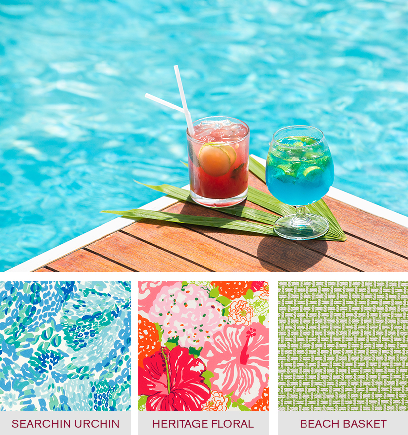 LILLY PULITZER RESORT 365 COLLECTION - Indoor/Outdoor Fabric Collection