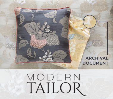 From The Archive: Modern Tailor Collection