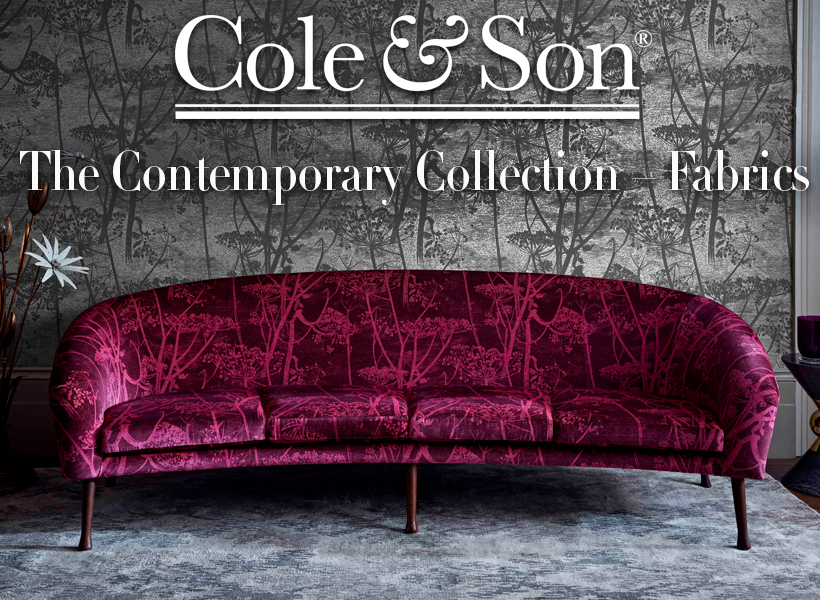 7 Popular Siding Materials To Consider: Cole & Son The Contemporary Collection – Fabrics