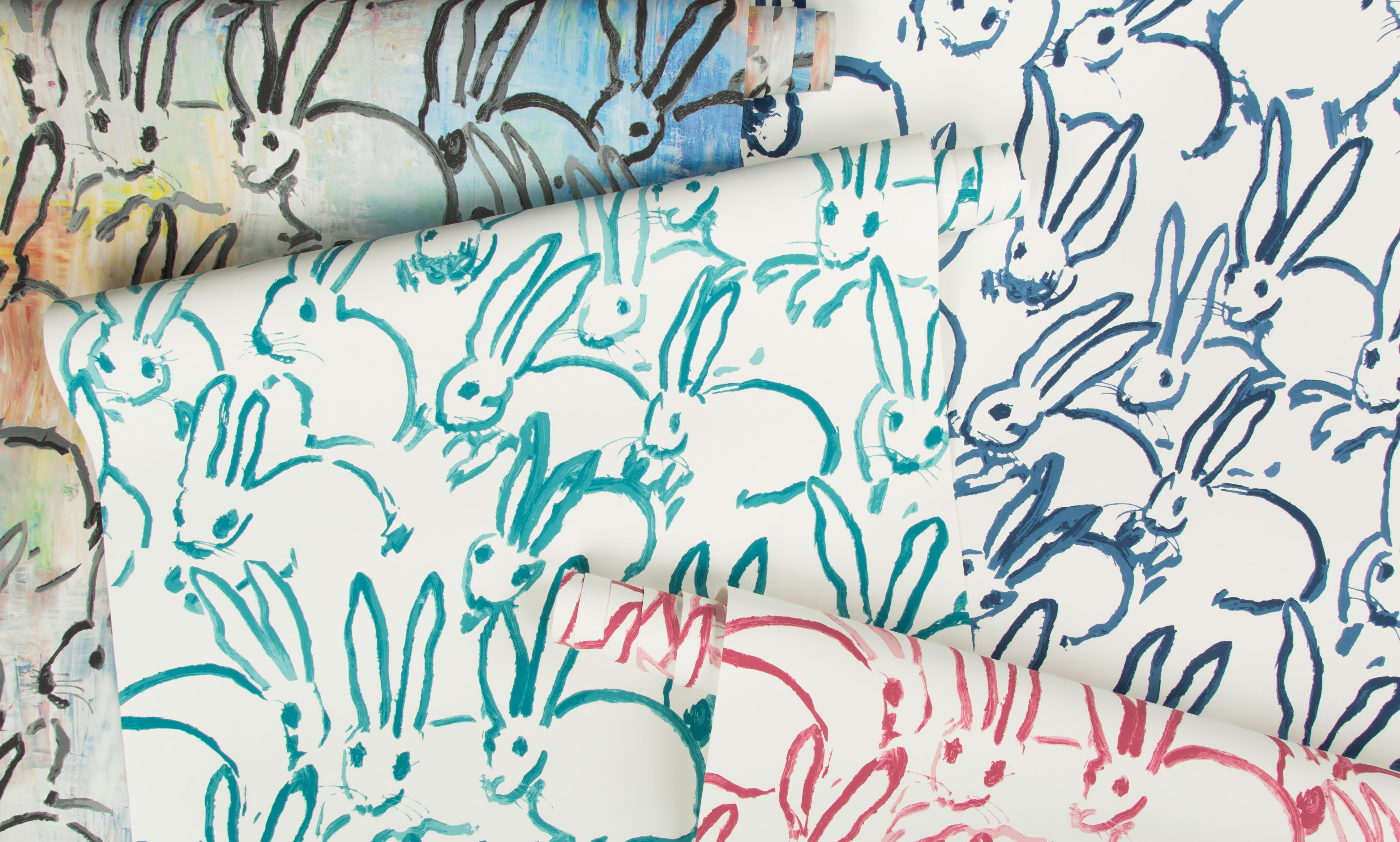 Art Comes To Life With Hunt Slonem Wallpaper Kravet Interior Insider